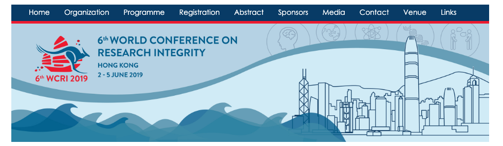 World Conference on Research Integrity – Science Integrity